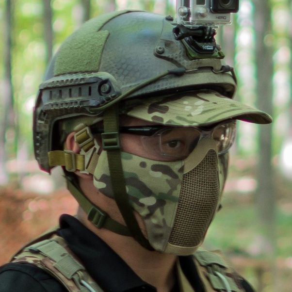 Airsoft Face Protection You Can Wear Glasses In