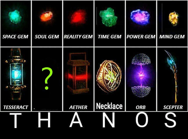 Do the names of the Infinity Stones spell Thanos? - Quora