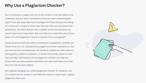 Is Grammarly a reliable plagiarism checker? - Quora