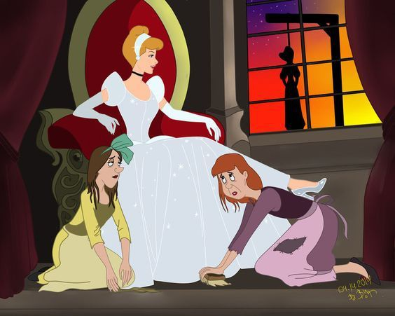 Why didn't Cinderella just leave instead of putting up ...