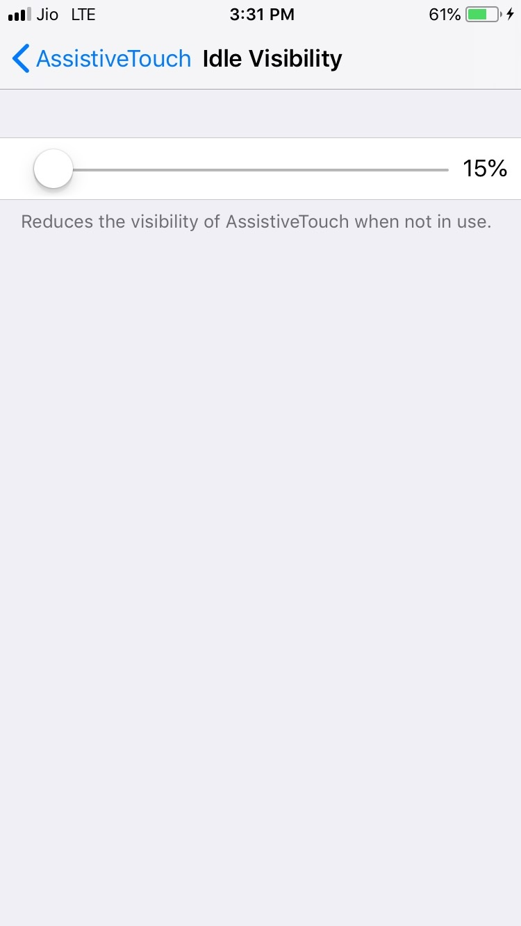 Why does AssistiveTouch always randomly disappear once in a while on
