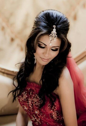 Hairstyles For Round Face Indian Bride - HairStyles
