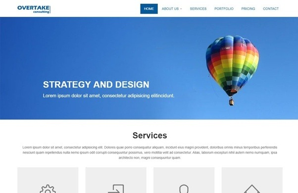 Which is the best website to download HTMLCSS website templates
