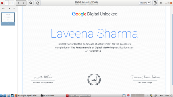 Is Google Digital Unlocked certification useful? - Quora