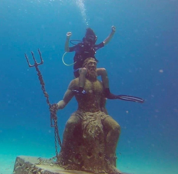What Would You Do If Poseidon Appeared To You (and Proved He Is The Real God Of The Sea)
