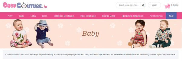 1713e0b805 These brands provides a best baby clothes and also famous among online baby  stores for kids clothes.