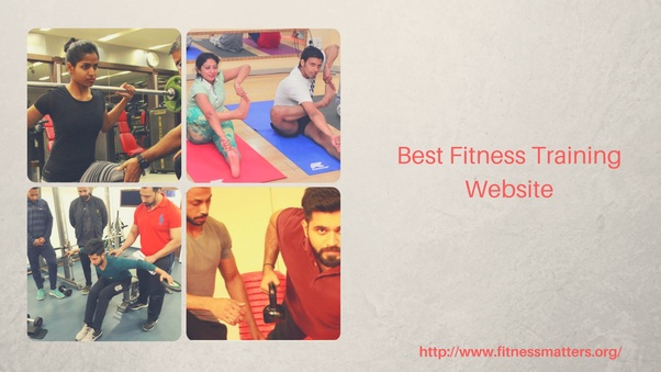 which website provides the best fitness training courses in india