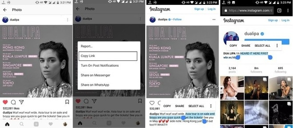 How to copy and paste text in Instagram - Quora