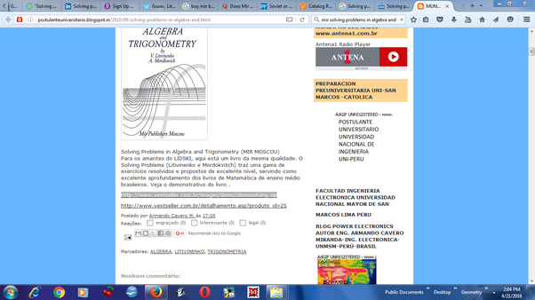 Where from i can download buy the book solving problems in algebra you would get a pdf file but it is only a part of the book fandeluxe Choice Image