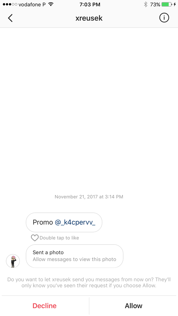 What happens when i send an instagram message to a person that has a what happens when i send an instagram message to a person that has a private account we are not friends yet will i know if they read my messages quora ccuart Images