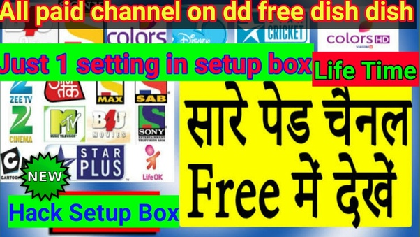 How to see paid channels on DD free dish - Quora