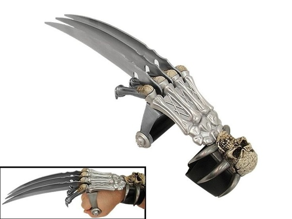 How Useful Would Metal Claws Strapped To Your Hands Be In