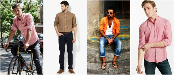 262e54b6c7 Which colour of T-shirt would be better with dark blue jeans  - Quora