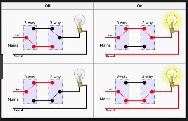 Triple Pole Double Throw Switch Wiring Diagram