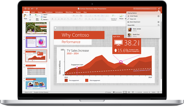 can we use powerpoint and excel in mac book quora
