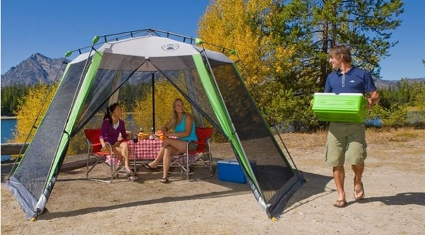 The Timber Top Geo tent is a Coleman product. The dome-style tent features a large room capable of sleeping 5 people. The tent includes a screen room and ... & How to choose a good camping tent? What are the best camping tents ...
