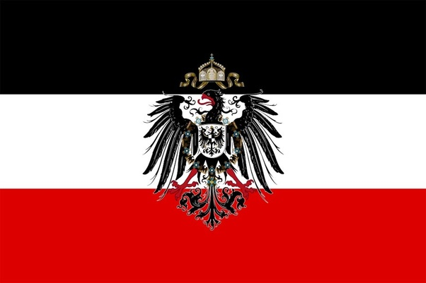 What did the German flag look like in WW1? - Quora