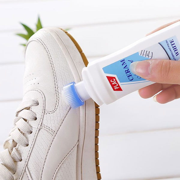 What is the best way to clean white shoes? Quora