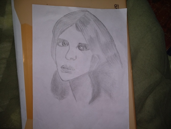 My Hobby Is Pencil Sketching Though I Am Not A Regular One But Can Show You Some Of The Recent Sketches Here Go