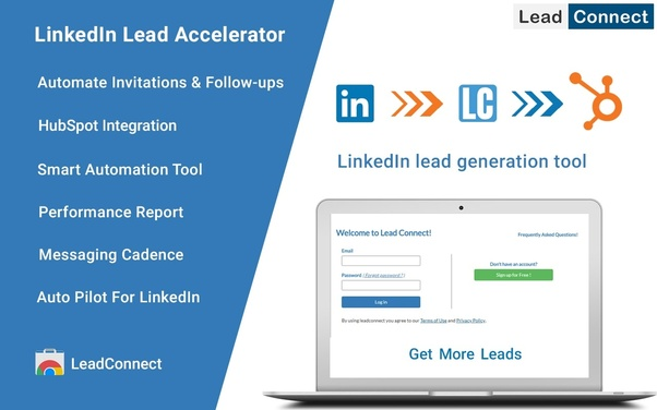 There are few Chrome extensions which help to find LinkedIn