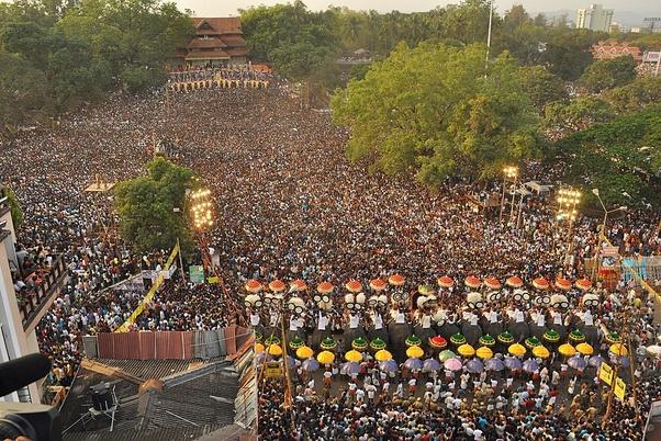 Image result for thrissur pooram