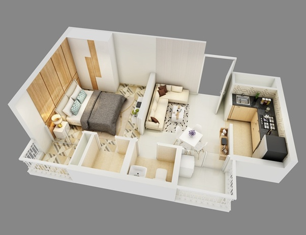 What will be the minimum cost for interior decoration of my 2bhk ...