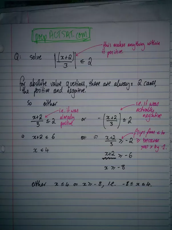 how to solve for x if x 1 3