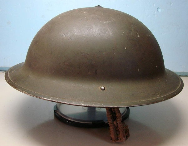 Why were WWII helmet designs so different by country and