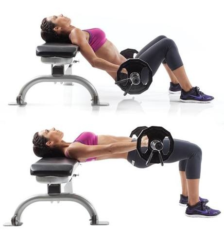 Is Barbell Hip Thrusts The Best Glute Exercise Quora