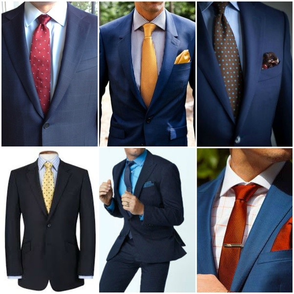What Color Matches With Brown: I Am Planning To Wear A Light Blue Shirt With A Black Suit