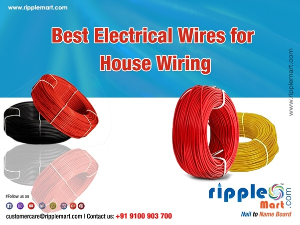 Fantastic Which Wire Cable Is Good For New House Electrical Work Quora Wiring Digital Resources Funapmognl