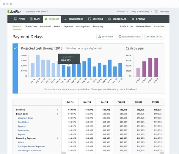 Has Anyone Used The Service Business Plan Software LivePlan And - Liveplan business plan template
