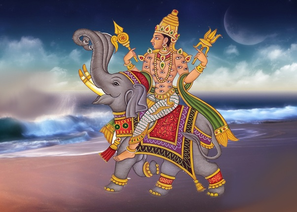 Why does Lord Ganesha have an elephant's head? - Quora