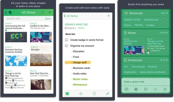 How much does it cost to build an app like evernote quora evernote is a cross platform app designed for note taking organizing and managing notes the app allows users to create a note that can be a piece of reheart Images