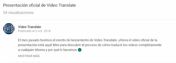 How to translate a YouTube video with no CC and no captions