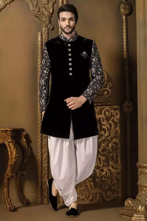 To Invest Money On A Sherwani That Can Be Worn In Wedding As Well Other Occasions Is Clever Idea Heavy Embroidered Your Choice