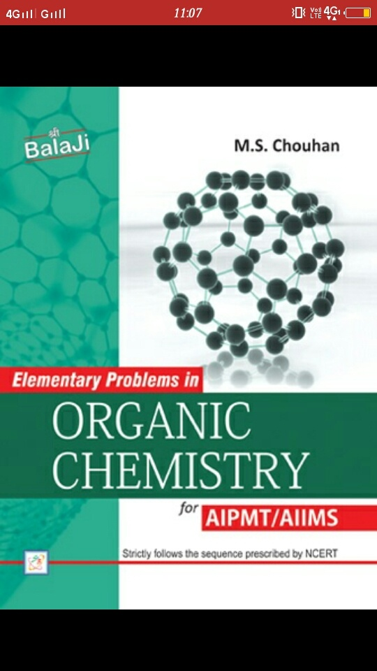 Which is better for AIIMS organic chemistry, MS Chauhan