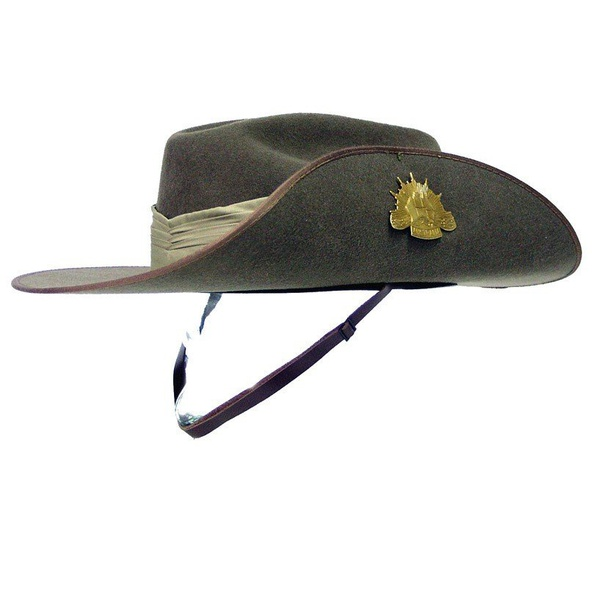 What Is It With The Classic Aussie Hat Being Turned Up On The Left Brim Quora