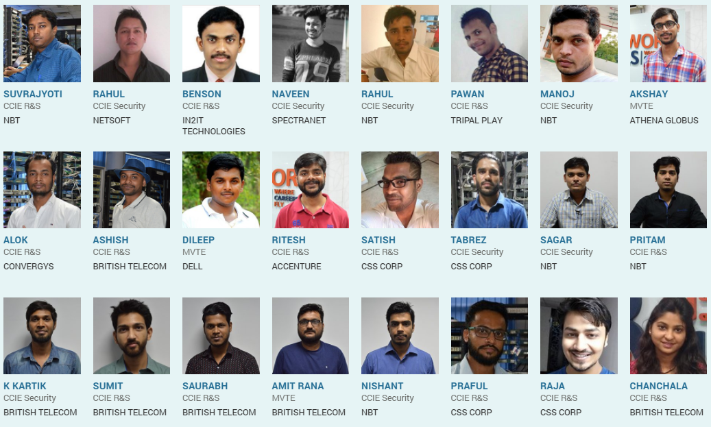 What is the best training institute for CCIE in Bangalore (classes