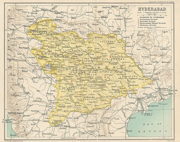 it included the present day parts of karnataka like bidar gulbarga bijapur urdu was the official language of these areas under the patronage of nizam