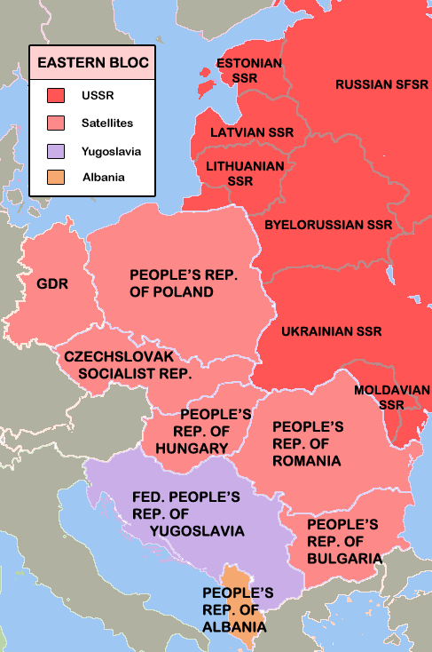 What Does The Soviet Sphere Of Influence Mean Quora