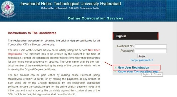 How long does it take to get an OD from JNTU Hyderabad? - Quora