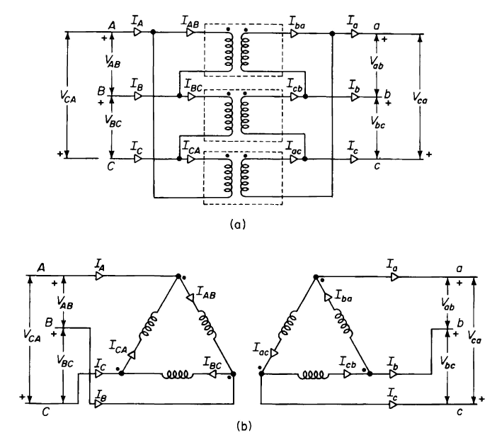 How Will I Get A Three Phase Transformer From Two Single Phase