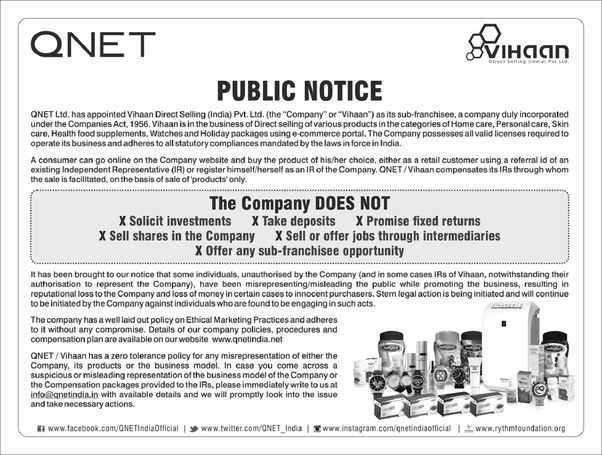 How to make my friend realize that QNET is a not a scam - Quora
