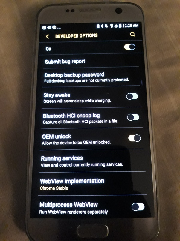 How to remove the FRP lock on a Samsung Galaxy S7 Edge - Quora