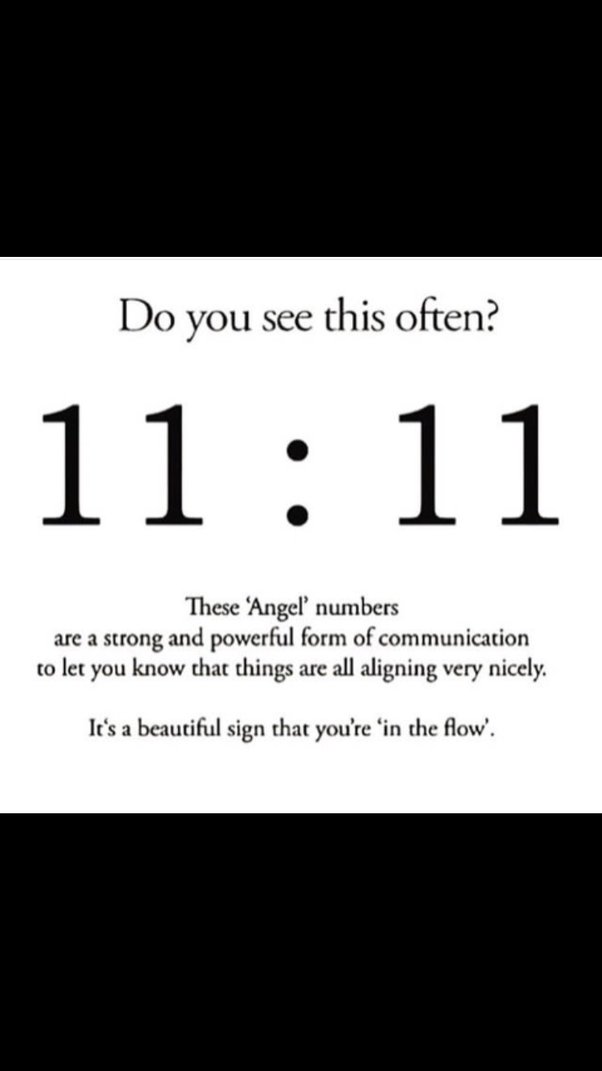 How many of you see 11:11 frequently? What could it be? - Quora