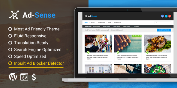 How to add a custom adsense script to the optimizepress blog theme use this theme this is optimized theme for blogger who focus on adsense the theme also have ad blocker detected its good for you when getting visitors maxwellsz