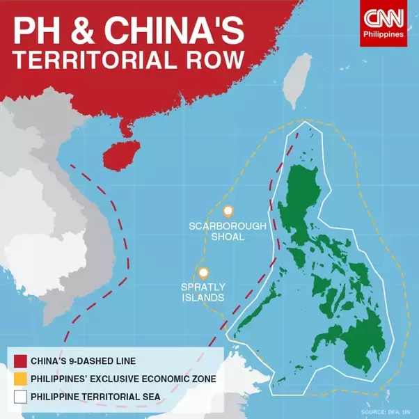 scarborough shoal a philippine territory If china begins to reclaim and militarize scarborough shoal, says philippines  president benigno s aquino iii, america must fight should we.