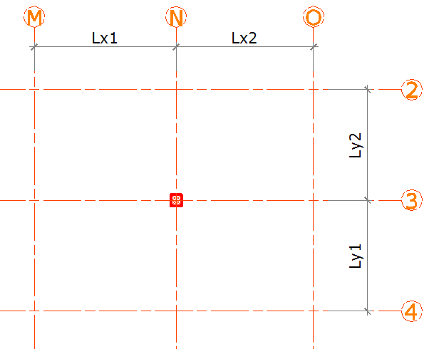How should I assume the initial size of RCC columns and beams of a