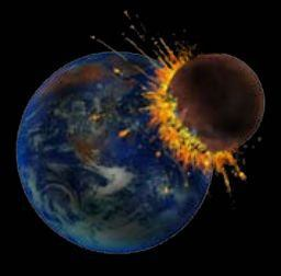 Image result for planets colliding